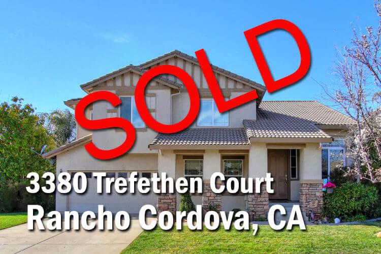 3380 Trefethen Ct Rancho Cordova, CA 95670